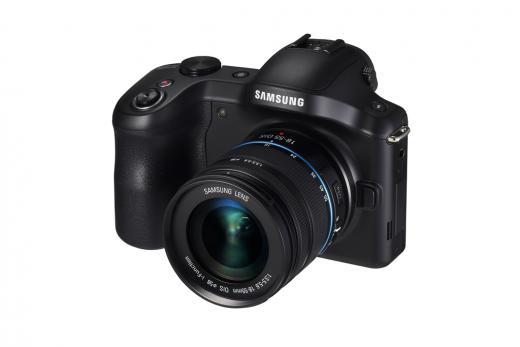 Spejlløst Samsung Galaxy NX systemkamera med Android