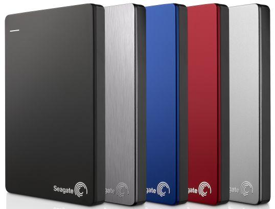 Lækker Seagate med ultra tynd ekstern harddisk med kapacitet på 2TB ZK-22