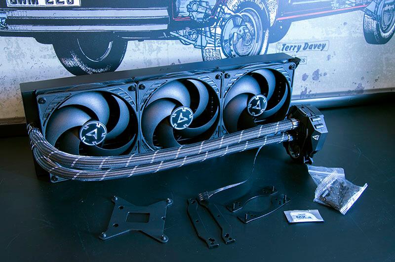 Liquid Freezer II - 420 - ARCTIC AIO