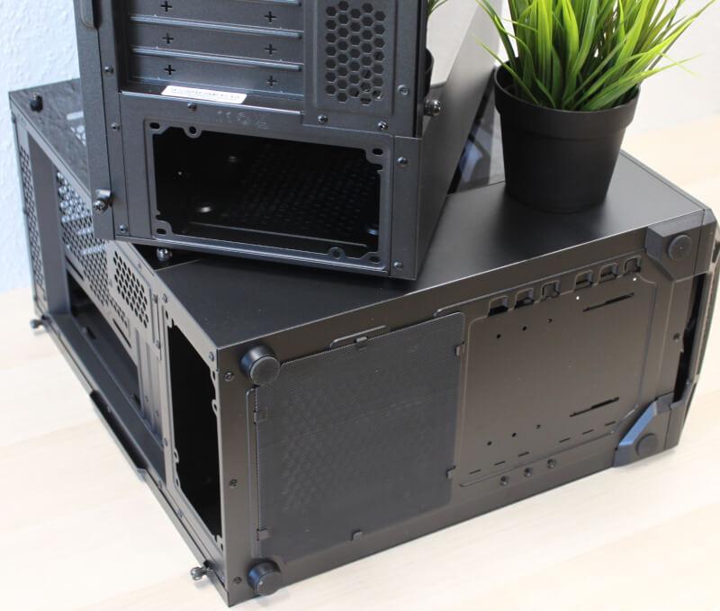 støvfilter fødder midi cooler master kabinet MB311L ARGB gamer