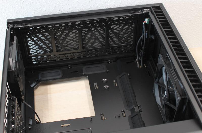 Define 7 Compact Define Tempered Dark Mini-ITX ATX kabinet mATX Glass Fractal Design Mini-ITX