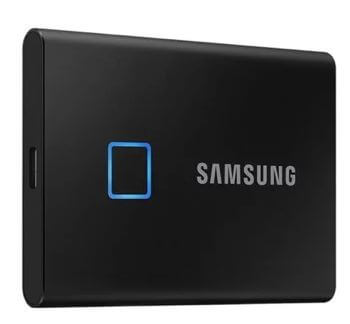intro Samsung T7 Touch SSD