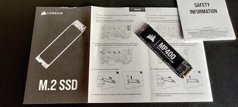 Corsair NVME SSD 4TB MP400