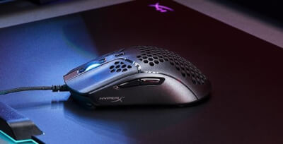 HyperX Releases Pulsefire Haste Ultra-lightweight Gaming Mouse