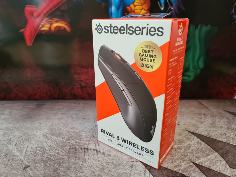 Wireless 2.4Ghz Bluetooth 3 gaming Grip Claw Battery Rival year-long Mouse SteelSeries Finger.jpg