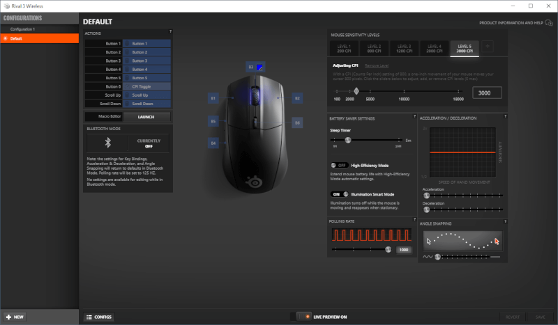 engine Rival Grip Battery gaming Claw 3 Wireless 2.4Ghz Mouse year-long Bluetooth SteelSeries Finger.png
