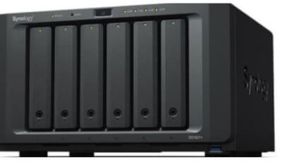 synology DiskStationn 1621+ front 2