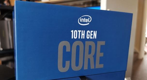 intel Core  10th gen 10850K