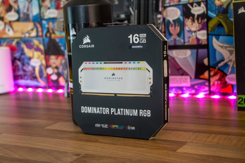 Corsair Dominator Platinum RGB 3600 MHz 16GB