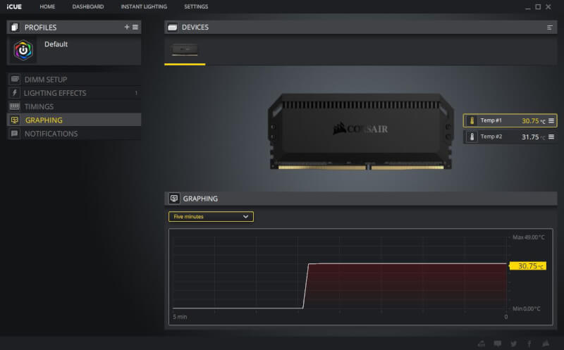 Dominator Platinum Platinum Dual-Path DHX iCUE software 3600 MHz