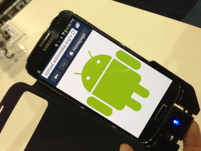 Samsung_Phone_with_Android_Robot_icon