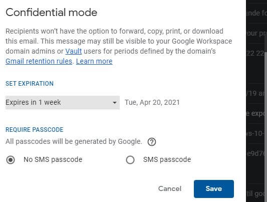 Gmail Confidential Mode.JPG