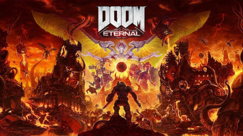 doom eternal gratis spil id software steam epic games intel i5 front