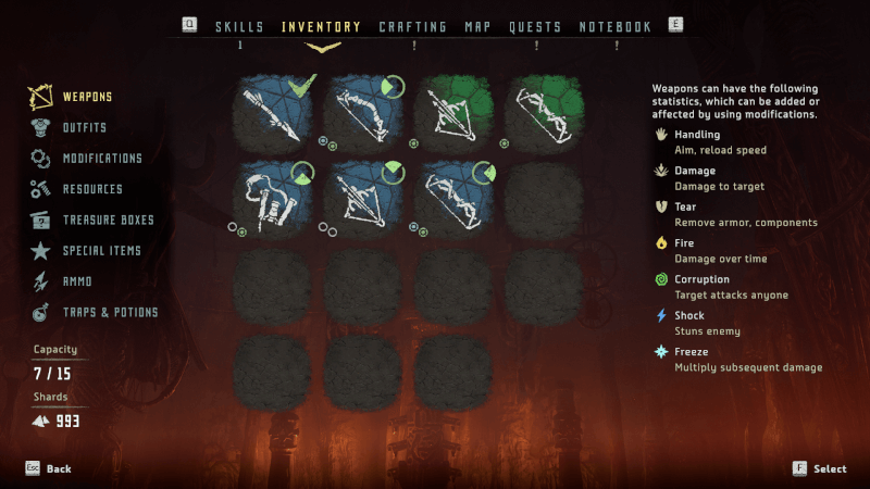 Guerilla Games Inventory Horizon Zero Dawn PC udgave.png