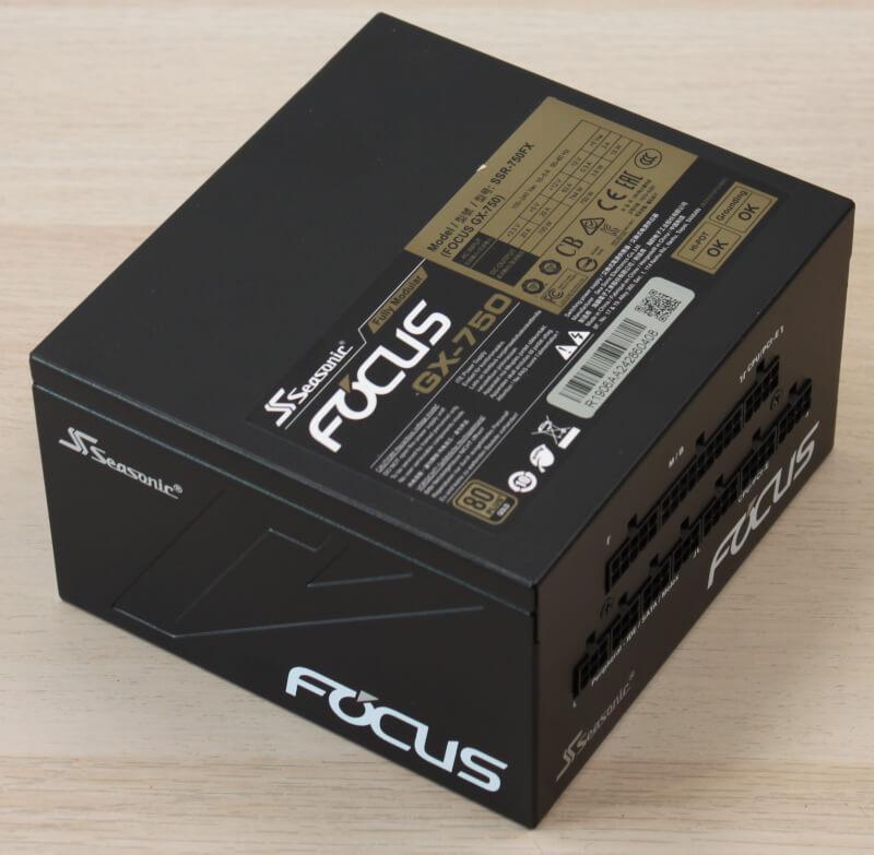 80 Plus Gold, 120 mm blæser, aktiv PFC PSU Gaming Seasonic