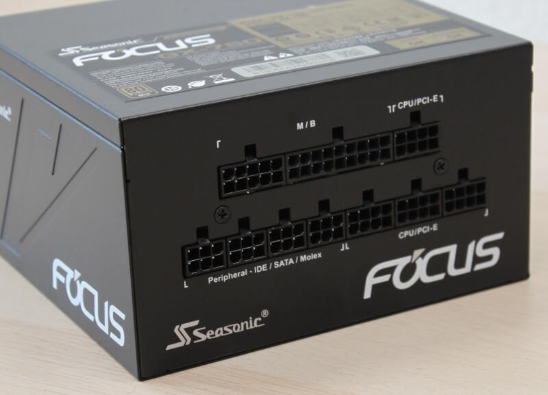 80 Plus EPS, focus+ Molex, 750W 80+ Gold ATX Seasonic