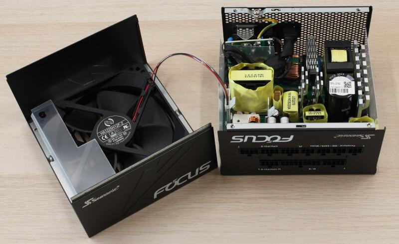 Seasonic Focus GX Strømforsyning tweakdk test 750