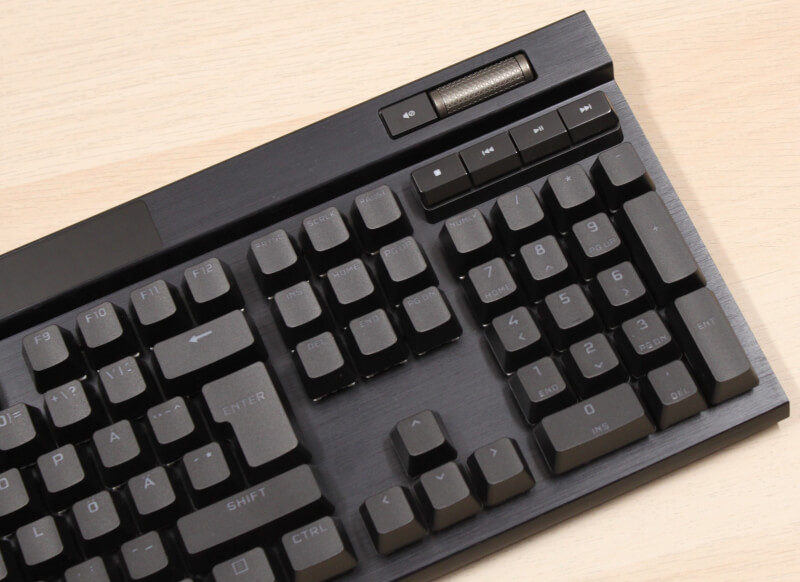 numpad_volumehjul_medie_knapper_corsair_gaming_k100_rgb_tastatur
