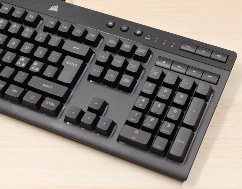 numpad_område_corsair_gaming_keyboard_k55_rgb_xT_pro_tastatur