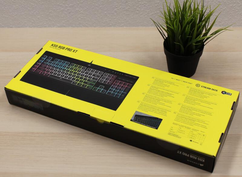 corsair_kasse_bagside_gaming_Tastatur_k55_rgb_pro