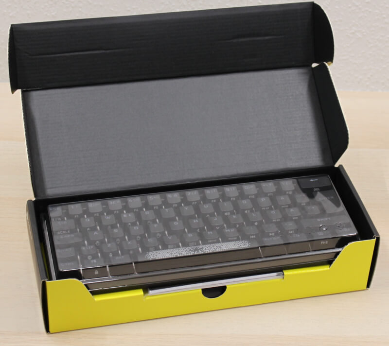 Corsair K65 RGB MINI keyboard